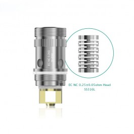 Pack de 5 résistances NC 0.25ohm Eleaf