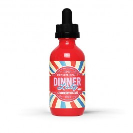Strawberry Custard 50ml Dinner Lady