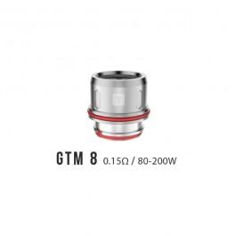 Résistances GTM8 Vaporesso (pack de 3)
