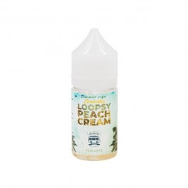 Concentré Loopsy Peach Cream 30ml Vape'n Joy (5 pièces)