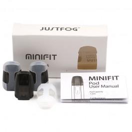 Pods de remplacement Minifit Justfog (boite de 3 pièces)