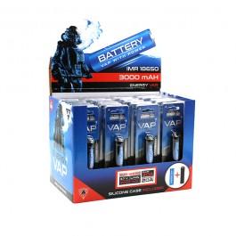 Accu Energy Vap 18650 3000 mAh BLUE 20A (boîte de 20 pièces)