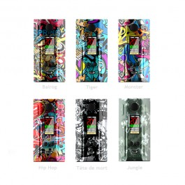 Box Spring 200w Graffiti Series by Laisimo
