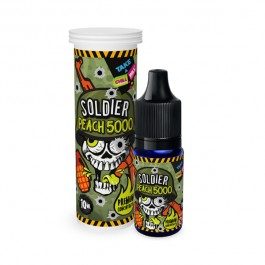 Concentré Soldier - Peach 5000 10ml Chill Pill