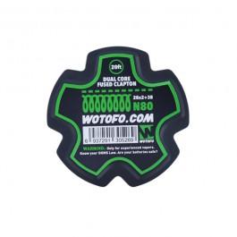 Bobine Dual Core Fused Clapton Wire Wotofo (20 feet/spool)