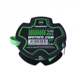 Bobine Juggernaut Wire (26+36)*2+0.1*0.4 Wotofo (20 feet/spool)