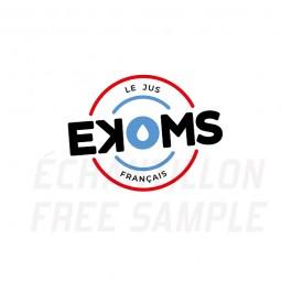 Pack d'échantillons gammes Ekoms 10ml Ekoms