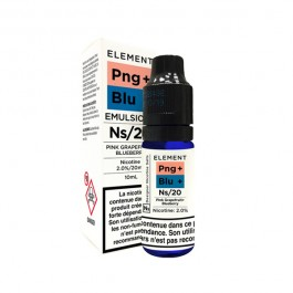 Pink Grapefruit Blueberry 10ml Nic Salts by Element