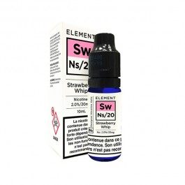 Strawberry Whip 10ml Nic Salts by Element
