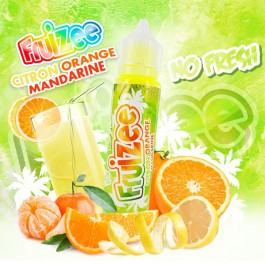 Citron Orange Mandarine 50ml Fruizee