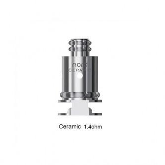 Résistances Nord Ceramic (1.4 ohm) Smok (5 pièces)
