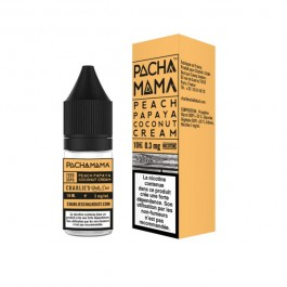 Peach Papaya Coconut Cream 10ml Pachamama Line by Charlie's Chalk Dust (10 pièces)