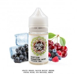 Concentré Eruption 30ml Resurrection Vaping (5 pièces)