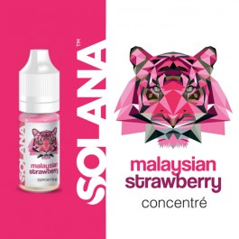 Concentré Malaysian Strawberry 10ml Solana (10 pièces)
