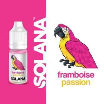 Framboise Passion 10ml Solana (10 pièces)