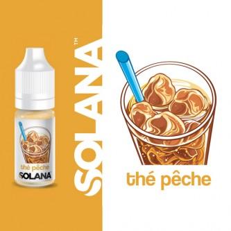 Thé Pêche 10ml Solana (10 pièces)