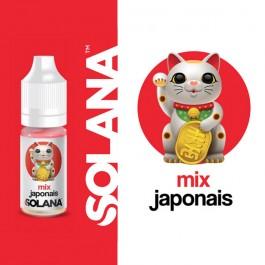 Mix Japonais 10ml Solana (10 pièces)