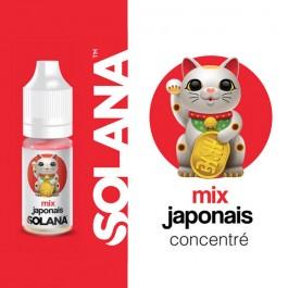 Concentré Mix Japonais 10ml Solana (10 pièces)
