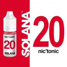 Booster de nicotine Nic'Tonic 20 10ml Solana (10 pièces)