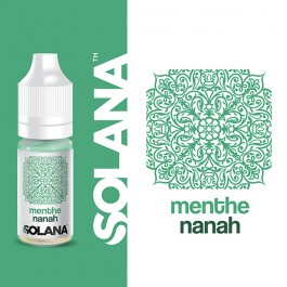 Menthe Nanah 10ml Solana (10 pièces)