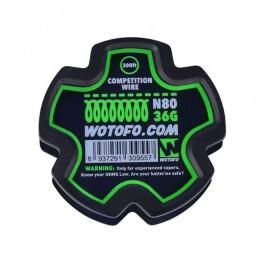 Bobine Ni80 Competition Wire Wotofo (300feet/spool)