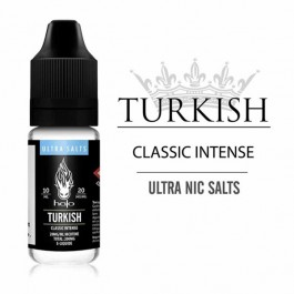 Turkish Tobacco 10ml Ultra Salts by Halo (sel de nicotine boite de 12)