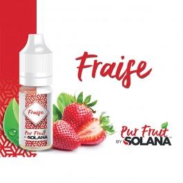 Fraise 10ml Pur Fruit by Solana (10 pièces)