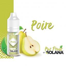 Poire 10ml Pur Fruit by Solana (10 pièces)