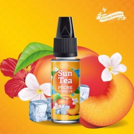 Concentré Pêche Hibiscus 10ml Sun Tea by Full Moon (10 pièces)