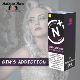 Gins Addiction 10ml Halcyon Haze Nicotine Plus