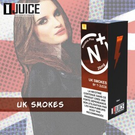 UK Smokes 10ml TJuice Nicotine Plus