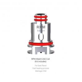 Résistances RPM40 Mesh (0.4ohm) Smok (pack de 5)