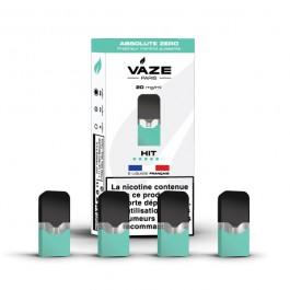 Pod Absolute Zero pour batterie Vaze (pack de 4)