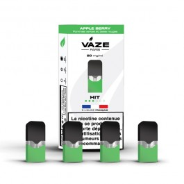 Pod Apple Berry pour batterie Vaze (pack de 4)