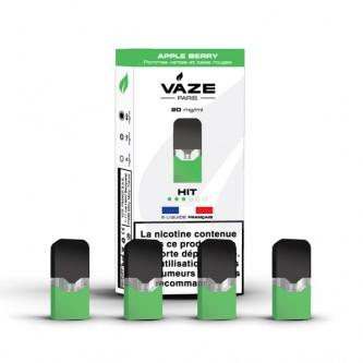 Pod Apple Berry pour batterie Vaze (pack de 4)