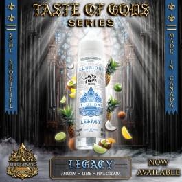 Legacy 50ml Taste of Gods Series by Illusions Vapor