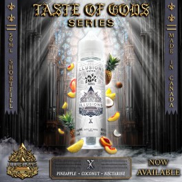 X 50ml Taste of Gods Series by Illusions Vapor