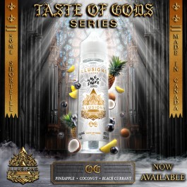 OG 50ml Taste of Gods Series by Illusions Vapor
