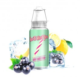 Concentré Cassis Citron 10ml Ice to meet you by Bordo2 (10 pièces)
