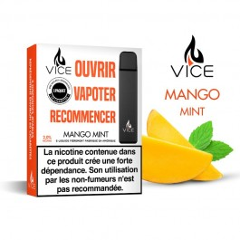 Kit Pod Jetable Mango Mint Vice by Halo (pack de 3)