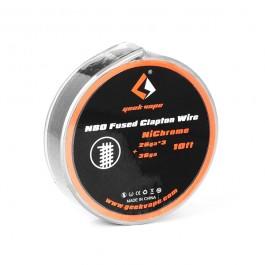 N80 Fused Clapton Wire (26GAx3 + 36GA) Geekvape