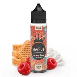 Croustillant Framboise 50ml Chez Marius by e.Tasty