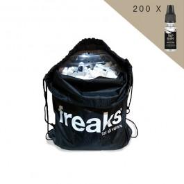Sac de 200 boosters de nicotine Nico Freaks 10ml Freaks