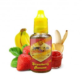 Concentré Strawberry Banana 30ml CustoMixed (5 pièces)