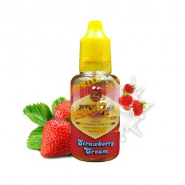 Concentré Strawberry Cream 30ml CustoMixed (5 pièces)