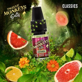 Harambae 10ml Twelve Monkeys (sels de nicotine)