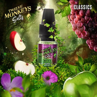 Matata Salt 10ml Twelve Monkeys (10 pièces)