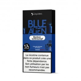 Pods Blue Alien 4x1ml Wpod by Liquideo