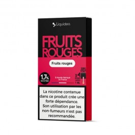 Pods Fruits Rouges 4x1ml Wpod by Liquideo