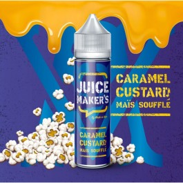 Caramel Custard Maïs Soufflé 50ml Juice Maker's by Made In Vape